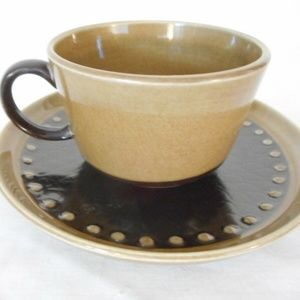Tahiti by FRANCISCAN Coffee Tea Cup and Saucer